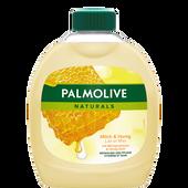 Bild: Palmolive Naturals Flüssigseife Milch & Honig Nachfüllung