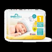 Bild: BABYWELL Premium-Windeln Newborn Gr. 1