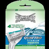 Bild: Wilkinson Quattro Titanium sensitive Klingen