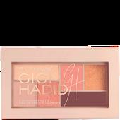 Bild: MAYBELLINE Gigi Hadid Eyeshadow Palette warm