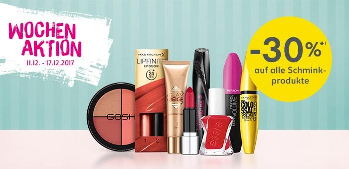 Beauty Produkte günstig shoppen.