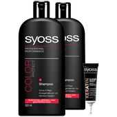 Bild: syoss PROFESSIONAL Shampoo Color Duo + Sofort Kur Shot