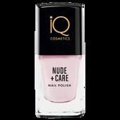 Bild: iQ COSMETICS Nude + Care Nail Polish rosé