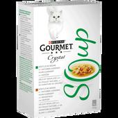Bild: GOURMET Crystal Soup Huhn garniert mit Gemüse, Huhn garniert mit Weißfleisch und Gemüse