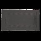 Bild: VOSSEN Country Badezimmerteppich 67x120cm slate grey