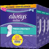Bild: always Fresh & Protect Slipeinlagen normal Vorteilspack