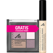 Bild: MANHATTAN Eyemazing Effect Eyeshadow + gratis Endless Stay Eyeshadow Primer