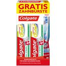 Bild: Colgate Fresh Stripe Zahncreme Duo + gratis Zahnbürste