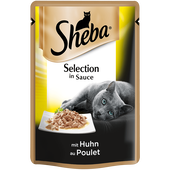 Bild: Sheba Selection in Sauce mit Huhn