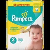 Bild: Pampers premium protection Gr. 2 (3-6 kg) Jumbo Pack