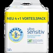 Bild: PENATEN ultra sensitiv Feuchttücher Vorteilspack 4+1 gratis