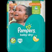 Bild: Pampers Baby-Dry Gr. 5+ (13-25kg) Big Bag