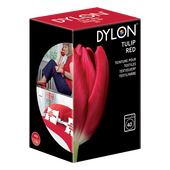 Bild: DYLON Textilfarbe tulip red