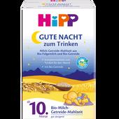 Bild: HiPP Gute-Nacht! Milch-Getreide-Mahlzeit