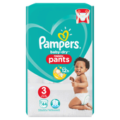 Bild: Pampers Baby-Dry Nappy Pants Gr. 3 (6-11kg) Value Pack