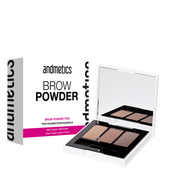 Bild: andmetics Brow Powder Trio