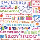 Bild: PAPSTAR Servietten Birthday Allover