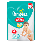 Bild: Pampers Baby-Dry Nappy Pants Gr. 4 (9-15kg) Value Pack