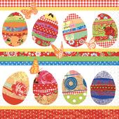 Bild: Paper + Design Servietten Egg Collage