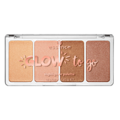 Bild: essence Glow to Go Highlighter Palette