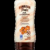 Bild: Hawaiian Tropic Silk Hydration Protective Sun Lotion LSF 50