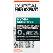 Bild: L'ORÉAL PARIS MEN EXPERT Hydra Sensitive Birkensaft Pflege