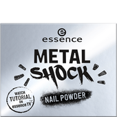 Bild: essence Metal Shock Nail Powder mirror, mirror on the nail