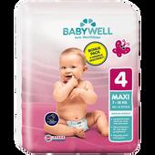 Bild: BABYWELL Premium-Windeln Gr. 4 Maxi Bonus Pack