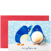 Bild: Bomb Cosmetics Kissmas Penguin Card