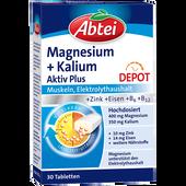 Bild: Abtei Magnesium + Kalium Tabletten