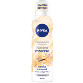 Bild: NIVEA Pflegedusche Seidenmousse vanilla caramel