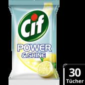 Bild: Cif Allzwecktücher Power&Shine anti-bakteriell Lemon