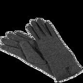 Bild: LOOK BY BIPA Handschuh grau mit Schlitz