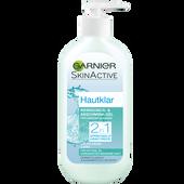 Bild: GARNIER SKIN ACTIVE Hautklar 2in1 Reinigungs- & Abschminkgel