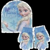 Bild: Disney's Frozen Haube + Handschuhe
