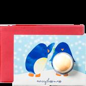 Bild: Bomb Cosmetics Kissmas Penguin Card