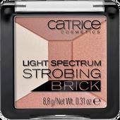 Bild: Catrice Light Spectrum Strobing Brick brown brilliance