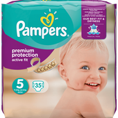 Bild: Pampers Active Fit Gr. 5 (11-23kg)