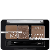 Bild: Catrice Brow Palette Matt & Glow now flash lights