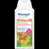 Bild: tetesept: Kinder Duschspaß Pferdegeflüster Duschbad & Shampoo
