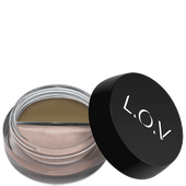 Bild: L.O.V BROWLIGHTS Eyebrow Pomade & Highlighter 100 astonishing blonde