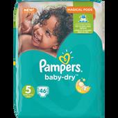 Bild: Pampers Baby-Dry Gr. 5 (11-23kg) Big Bag
