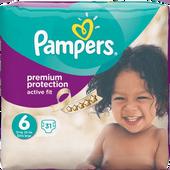 Bild: Pampers Active Fit Gr. 6 (15+kg) Value Pack