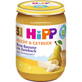 Bild: HiPP Birne-Banane mit Zwieback