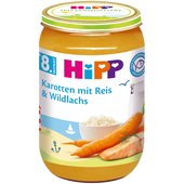 Bild: HiPP Karotten mit Reis & Wildlachs