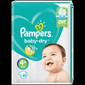 Bild: Pampers Baby-Dry Gr. 4+ (10-15kg) Value Pack