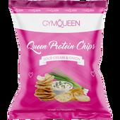Bild: GYMQUEEN Queen Protein Chips Sour Cream & Onion