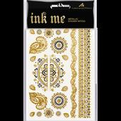 Bild: MANHATTAN Ink Me Metaillic Sticker Tattoo