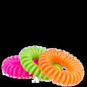 Bild: LOOK BY BIPA Spiral Zopfhalter neon