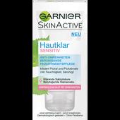 Bild: GARNIER SKIN ACTIVE Hautklar Sensitive Anti-Unreinheiten beruhigende Feuchtigkeitspflege